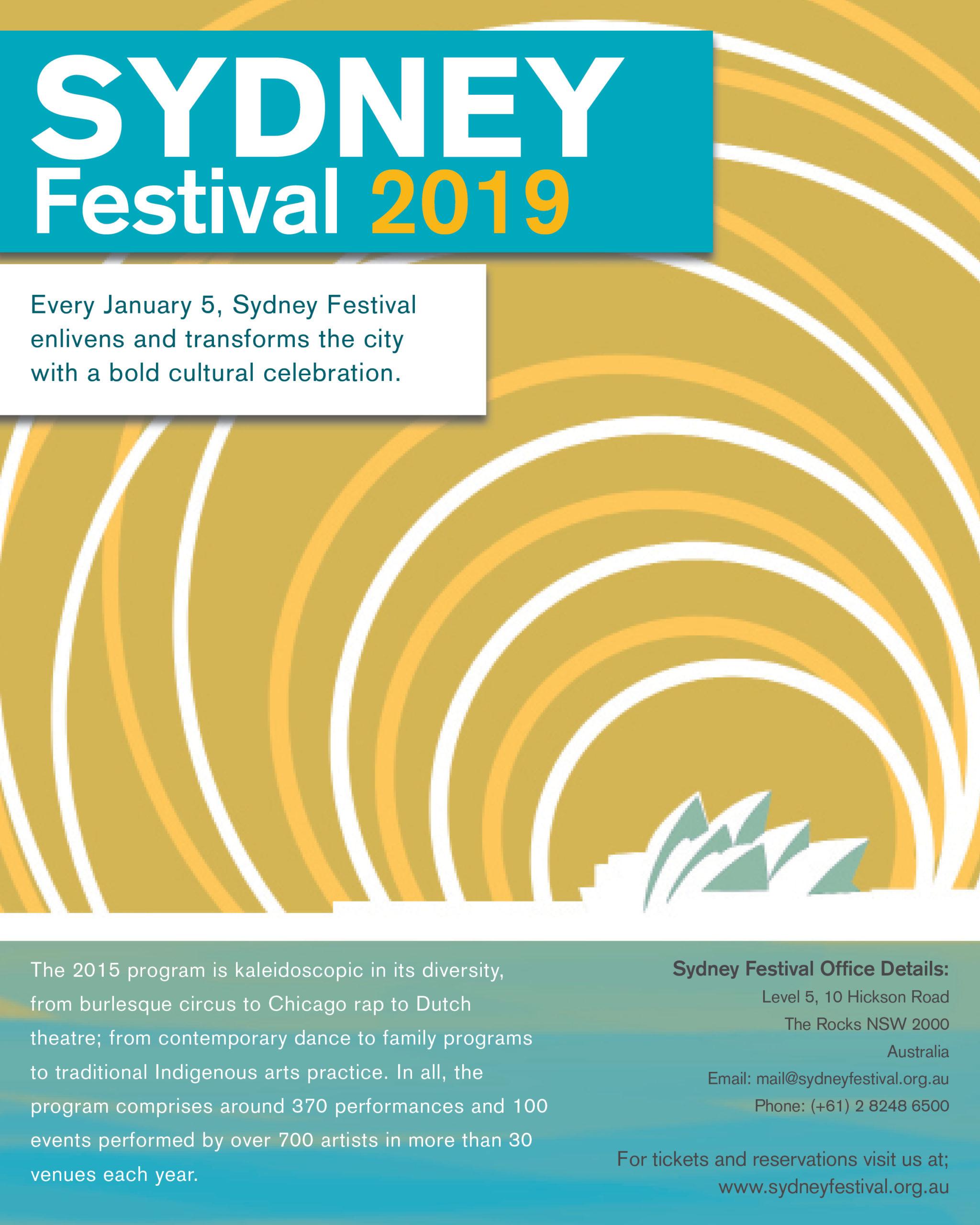 Sydney Festival Poster